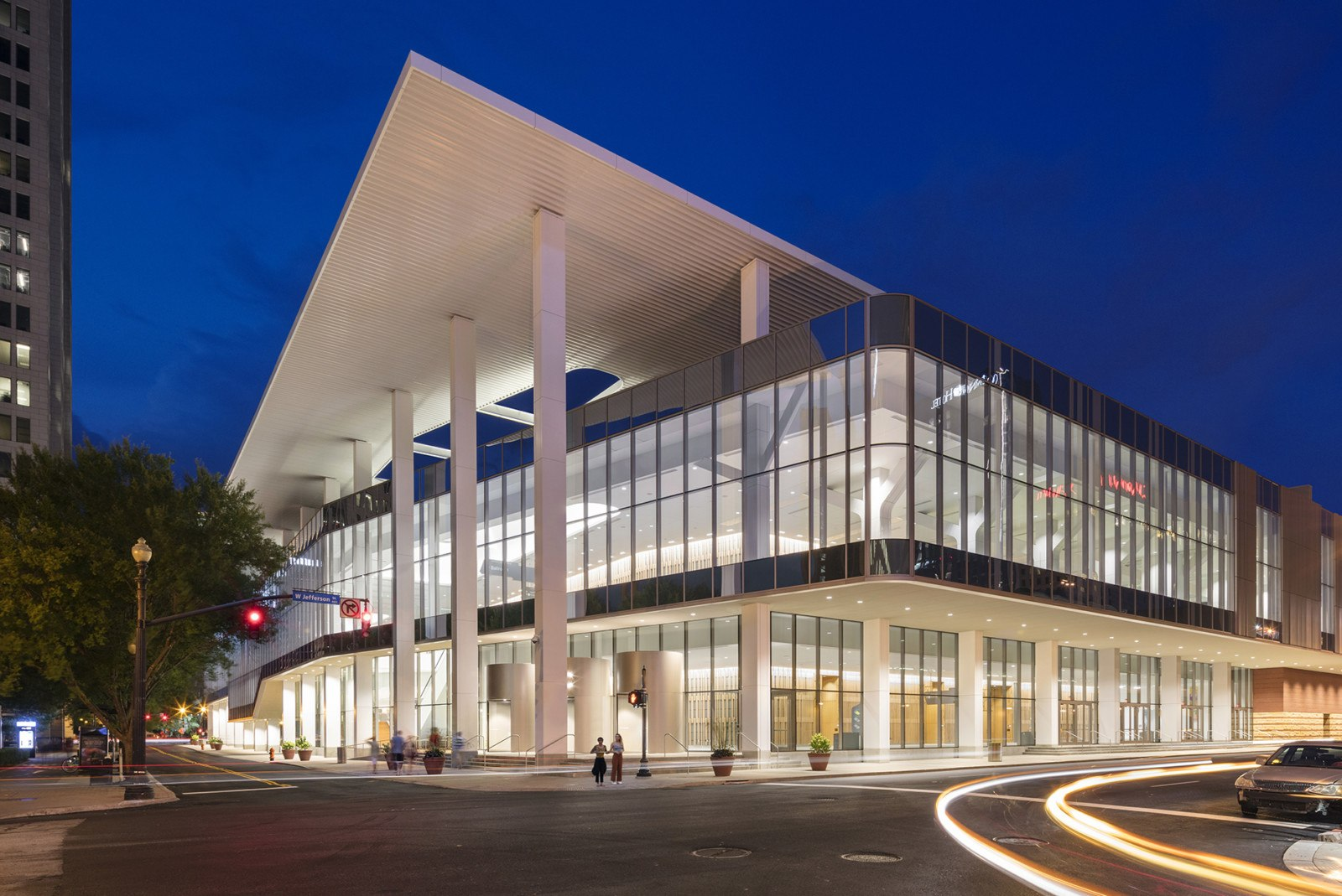 This is the front of the Kentucky International Convention Center in Louisville, where the 47th Annual Course will be held.